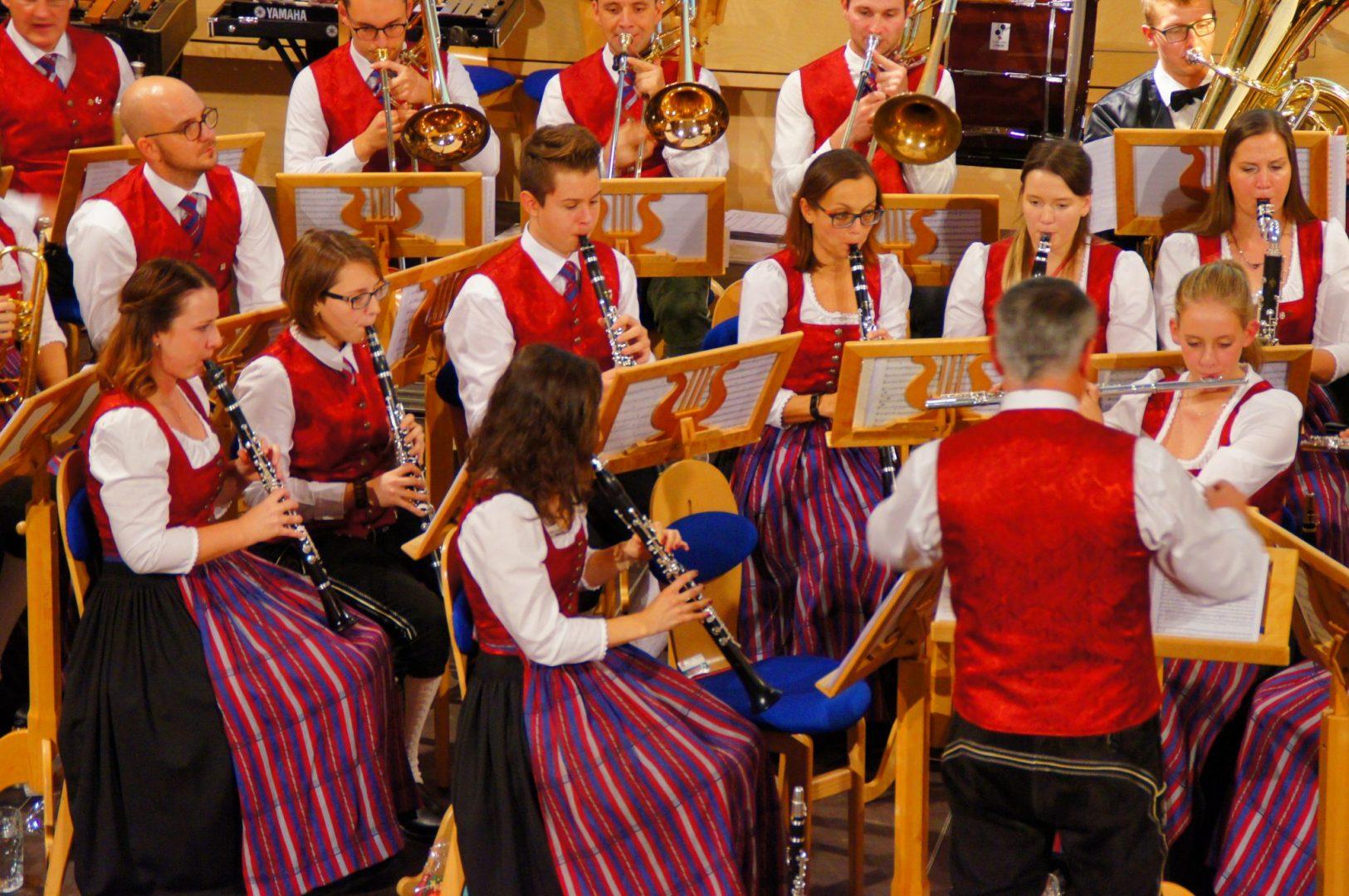 Herbstkonzert 2018 Orchester Klarinette (c) Klaus Hofinger