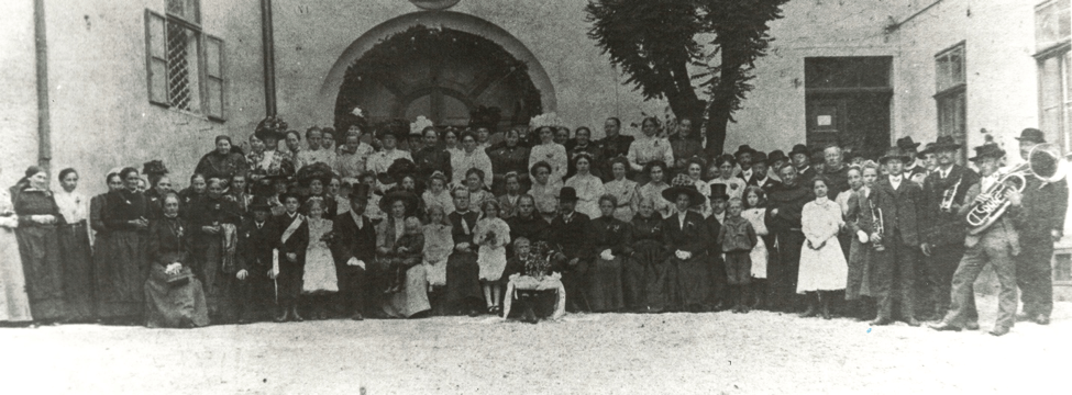 MK Suben 1902 Primizfeier Chronik