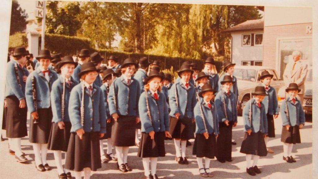 Jungbläser im Walkjanker 1970er Chronik