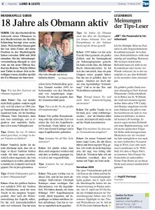 Tips KW 11 - 18 Jahre Obmann Alois Ecker, Seite 8