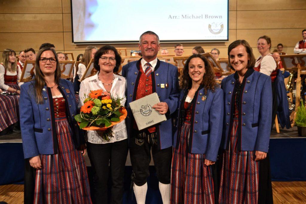 Frühjahrskonzert 2018 Lois Danke