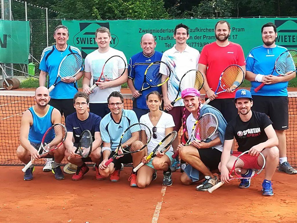 Tennisturnier August 2018