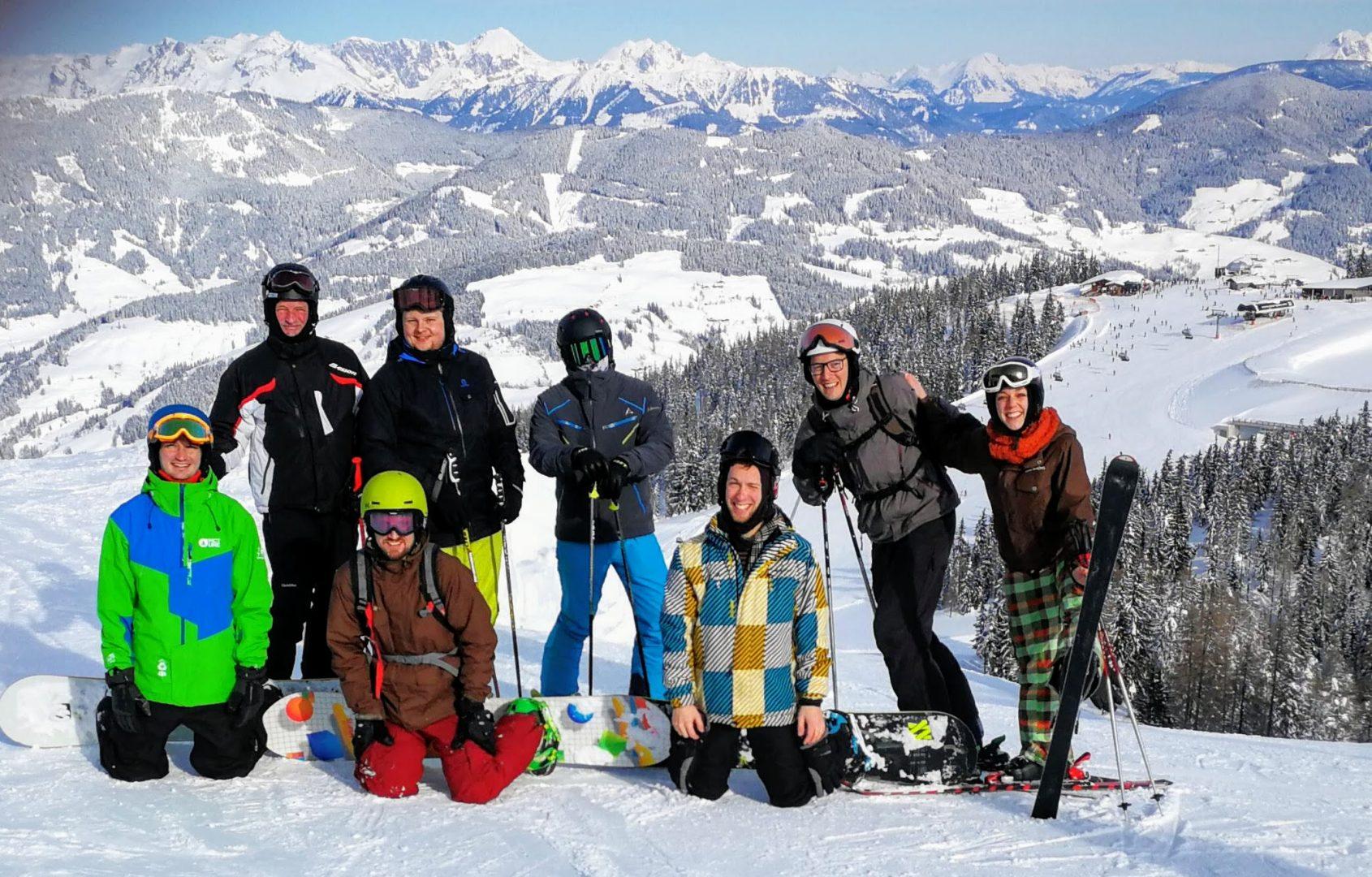 Musi-Feuerwehr-Skifahren 2019