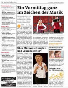 Bezirksrundschau KW 10 / 2019 - Musikalischer Vormittag