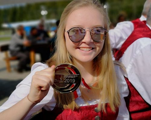 Konzertwertung 2019 - Goldmedaille Sarah